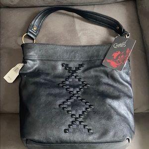 Carlos Santana Leather Hobo Bag